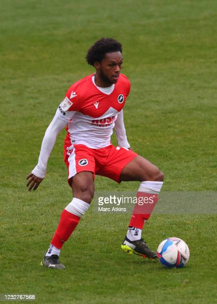 Mahlon Romeo of Millwall during the Sky Bet Championship match between Coventry City and Millwall at St Andrew's Trillion Trophy Stadium on May 8,...