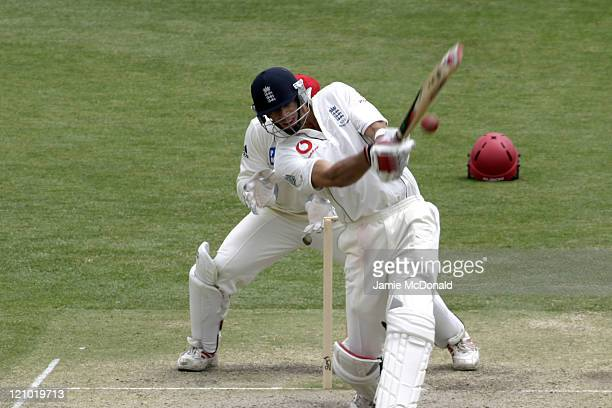 Mahmood Singh of England playing South Australia in the Final Day of their last Tour Match before the beginning of the Ashes next week Adelaide...