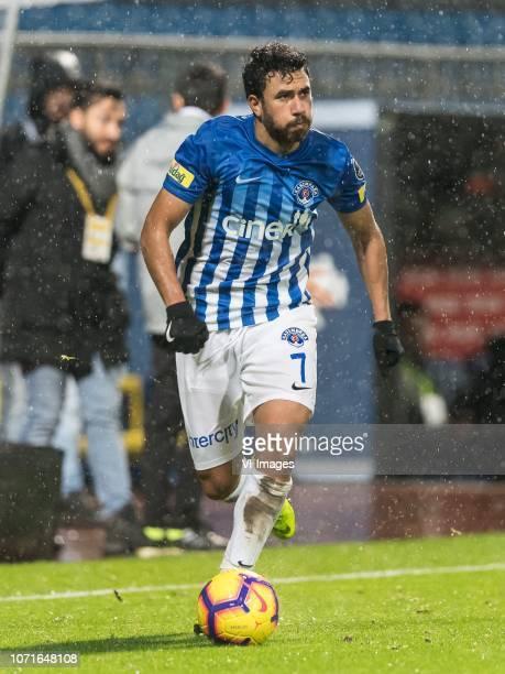 Mahmoud Ahmed Ibrahim Trezeguet of Kasimpasa AS during the Turkish Spor Toto Super Lig match between Kasimpasa AS and Kayserispor at the Recep Tayyip...