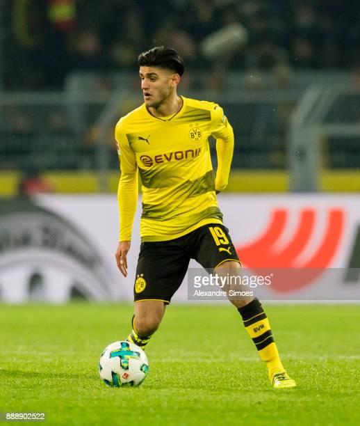 Mahmoud Dahoud of Borussia Dortmund during the Bundesliga match between Borussia Dortmund and SV Werder Bremen at Signal Iduna Park on December 9...