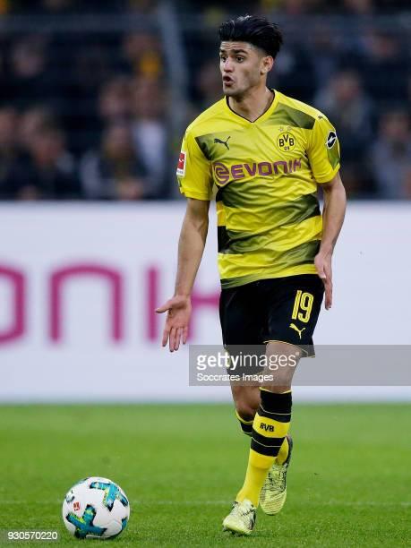 Mahmoud Dahoud of Borussia Dortmund during the German Bundesliga match between Borussia Dortmund v Eintracht Frankfurt at the Signal Iduna Park on...