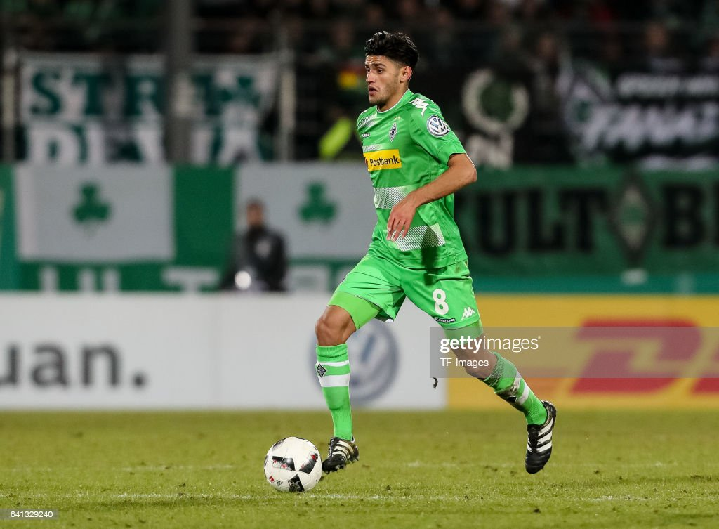 SpVgg Greuther Fuerth v Borussia Moenchengladbach - DFB Cup Round Of 16 : News Photo
