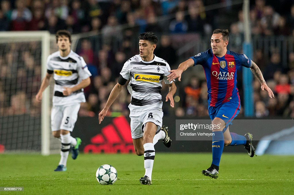 FC Barcelona v VfL Borussia Moenchengladbach - UEFA Champions League : News Photo
