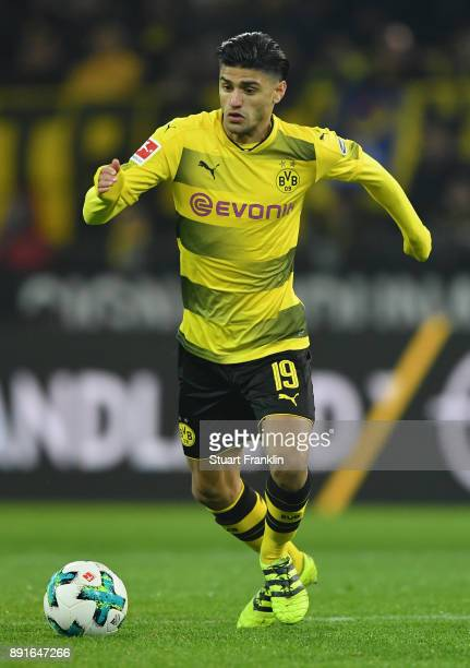 Mahmoud Dahoud of Dortmund in action during the Bundesliga match between Borussia Dortmund and SV Werder Bremen at Signal Iduna Park on December 9...