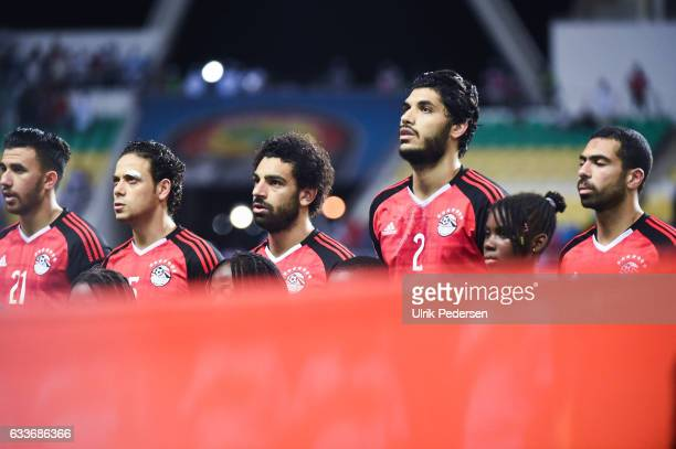 Mahmoud Hassan Ibrahim Salah Mohamed Salah Ali Gabr of Egypt during the African Nations Cup Semi Final match between Burkina Faso and Egypt at Stade...
