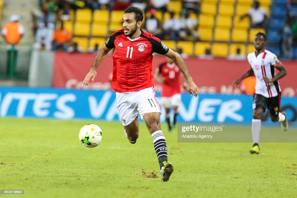Egypt vs Uganda: African Cup of Nations 2017 : News Photo