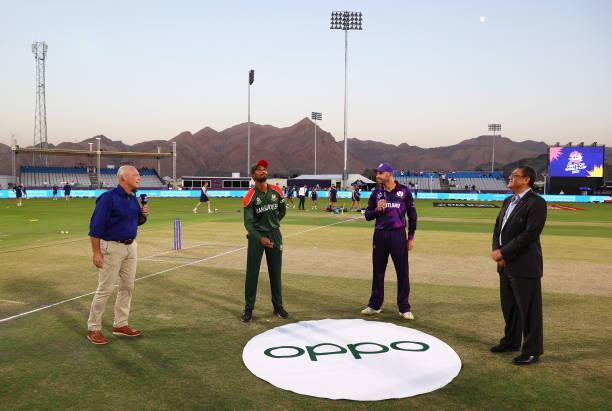 OMN: Bangladesh v Scotland - ICC Men's T20 World Cup 2021