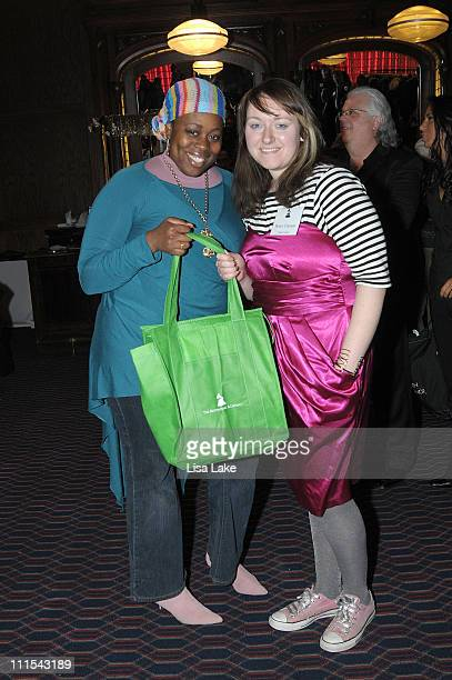 Mahogany and Becky Clawson attend the Philadelphia Chapter 52nd Annual GRAMMY Awards Telecast Viewing Party at Dave and Buster's on January 31 2010...