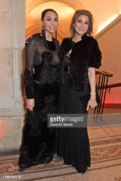 Mahsa Nejati and Lucy Doughty attend The Portrait Gala 2019 hosted by Dr Nicholas Cullinan and Edward Enninful to raise funds for the National...