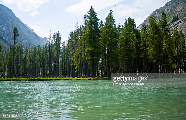 mahudand lake - swat valley stock pictures, royalty-free photos & images