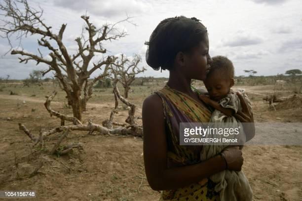 Mai 1992 Des camps de réfugiés somaliens au Kenya