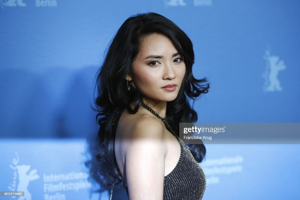 Mai Duong Kieu attends the 'Bad Banks' premiere during the 68th Berlinale International Film Festival Berlin at Zoo Palast on February 21, 2018 in Berlin, Germany.