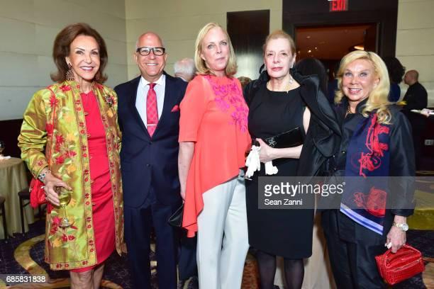 Mai Hallingby Harrison Fred Negem Jackie Williams Kathy Irwin and Thorunn Wathne attend The Boys' Club of New York Annual Awards Dinner at Mandarin...