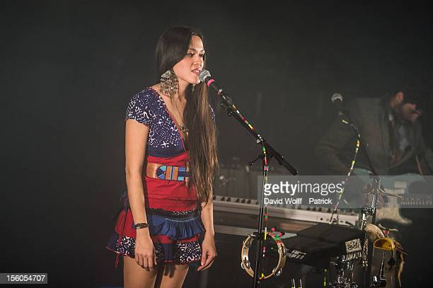 Mai Lan performs during Les Inrocks Festival 2012 at La Cigale on November 11 2012 in Paris France