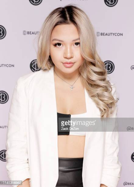 Mai Pham poses for a portrait during day 2 of Beautycon Festival on April 07 2019 in New York City