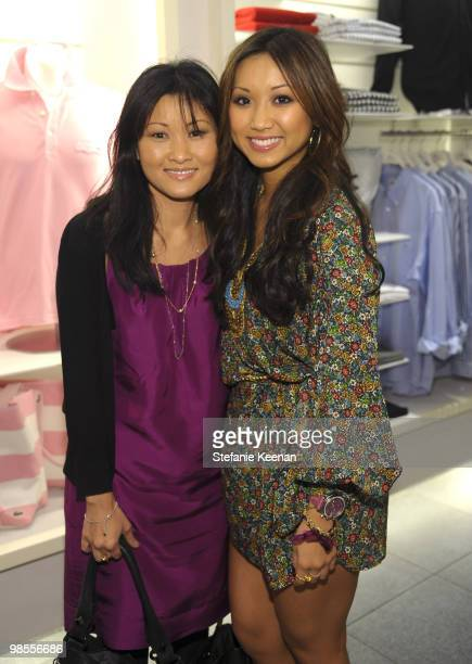 Mai Song and Brenda Song attend the launch of the 2009 Pink Croc Collection to benefit the Breast Cancer Research Foundation held at the Lacoste...