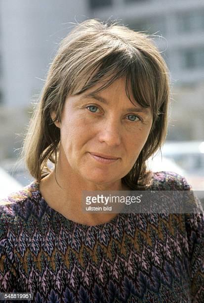 Mai Zetterling Schauspielerin Filmregisseurin Buchautorin um 1972