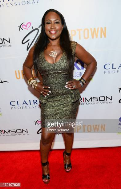 Maia Campbell attends the beauty is love lounge at the Andaz hotel at on June 29 2013 in Hollywood California