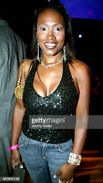 Maia Campbell during Jamie Foster Hosts Sister 2 Sister Magazine 16th Anniversary at Crobar in New York City New York United States