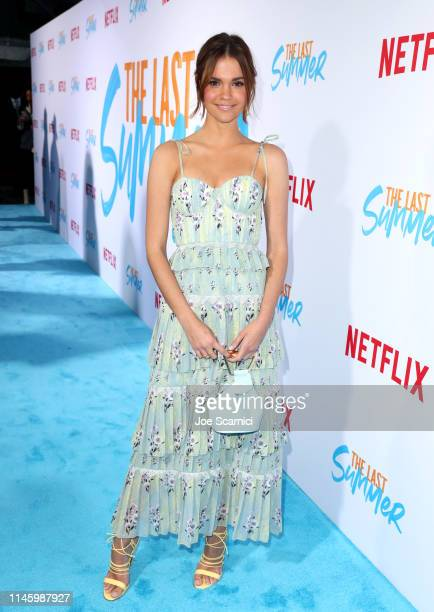 Maia Mitchell attends a special screening of Netflix's 'The Last Summer' at the TCL Chinese Theatre on April 29 2019 in Los Angeles California