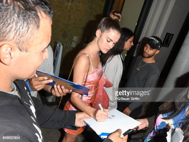 Maia Mitchell is seen seen on September 19 2017 in Los Angeles California