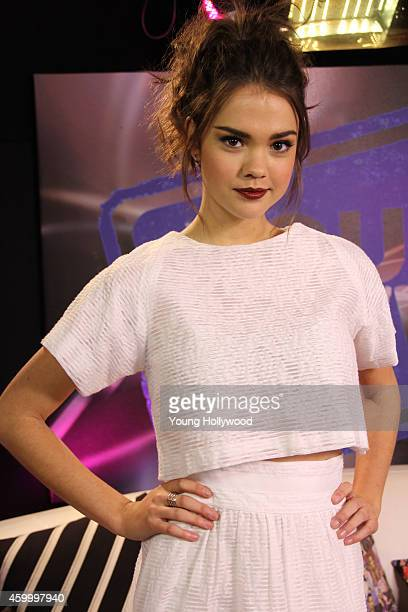 Maia Mitchell visits the Young Hollywood Studio on December 5 2014 in Los Angeles California