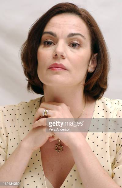Maia Morgenstern during 'The Passion of the Christ' Press Conference with Mel Gibson Jim Caviezel and Maia Morgenstern at Four Seasons Hotel in...