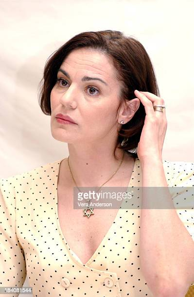 Maia Morgenstern during The Passion of the Christ Press Conference with Mel Gibson Jim Caviezel and Maia Morgenstern at Four Seasons Hotel in Beverly...