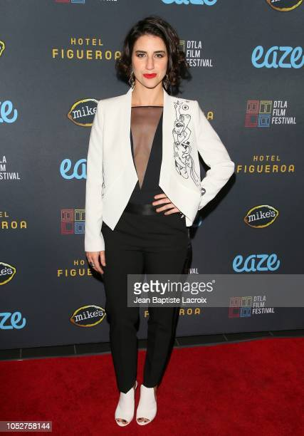 Maia Nikiphoroff attends the 2018 Downtown Los Angeles Film Festival - 'All Creatures Here Below' 'Original Sin' And Perception' Press line held at...
