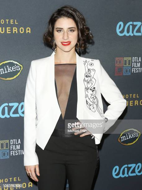 """Maia Nikiphoroff attends the 2018 Downtown Los Angeles Film Festival - """"All Creatures Here Below"""" """"Original Sin"""" And Perception"""" Press line held at..."""
