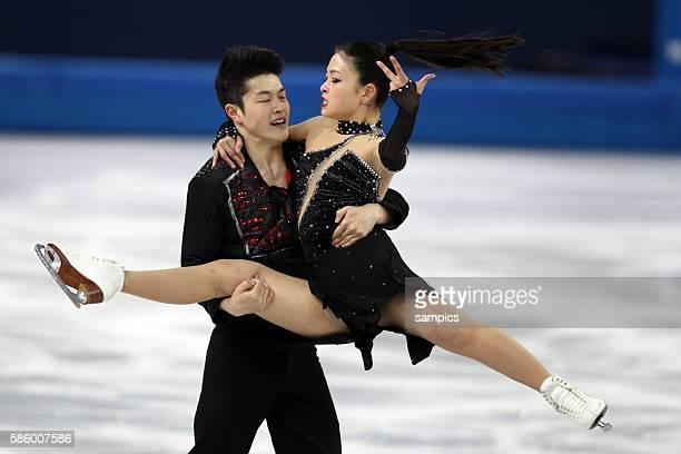 Maia / SHIBUTANI Alex USA Eistanz Kür ice dance free Eiskunstlaufen Figure skating olympic winter games 2014 sochi olympische Spiele winterspiele in...