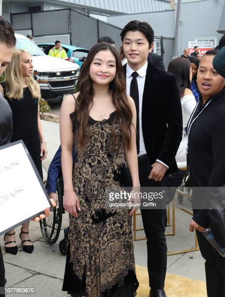 Maia Shibutani and Alex Shibutani are seen on January 05 2019 in Los Angeles California