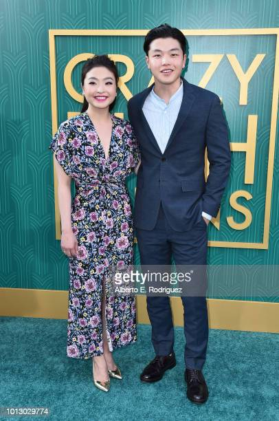 """Maia Shibutani and Alex Shibutani attend the premiere of Warner Bros. Pictures' """"Crazy Rich Asiaans"""" at TCL Chinese Theatre IMAX on August 7, 2018 in..."""