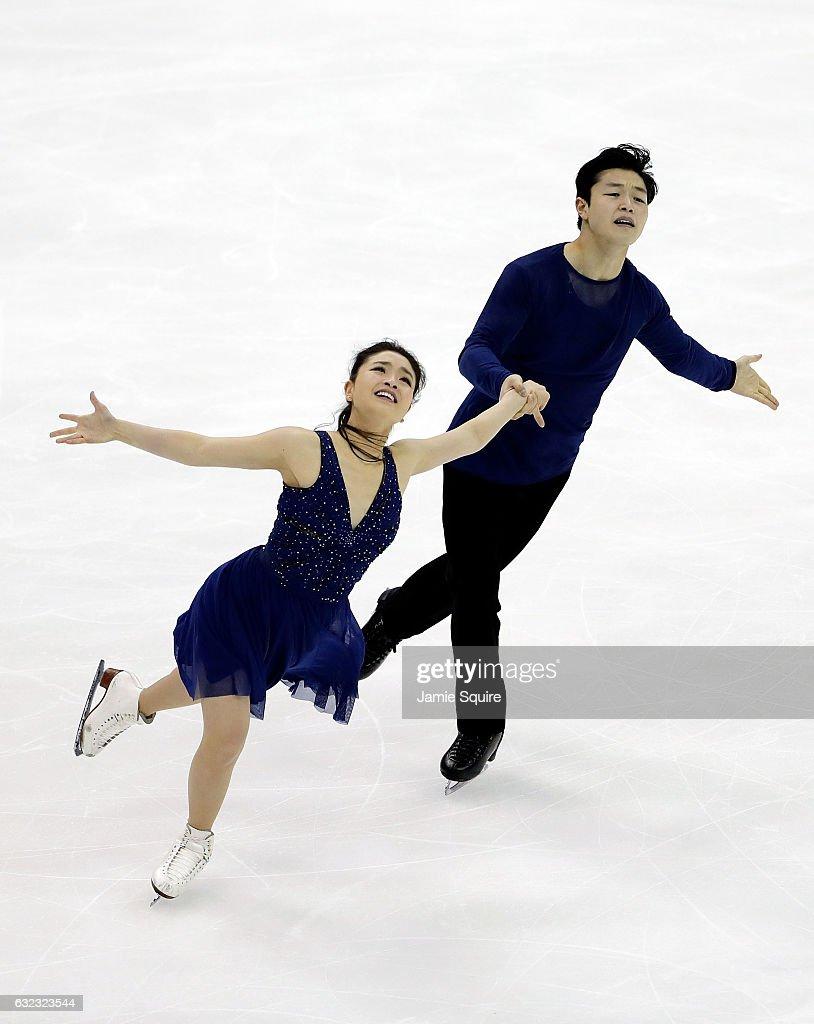 2017 U.S. Figure Skating Championships - Day 3 : Foto jornalística