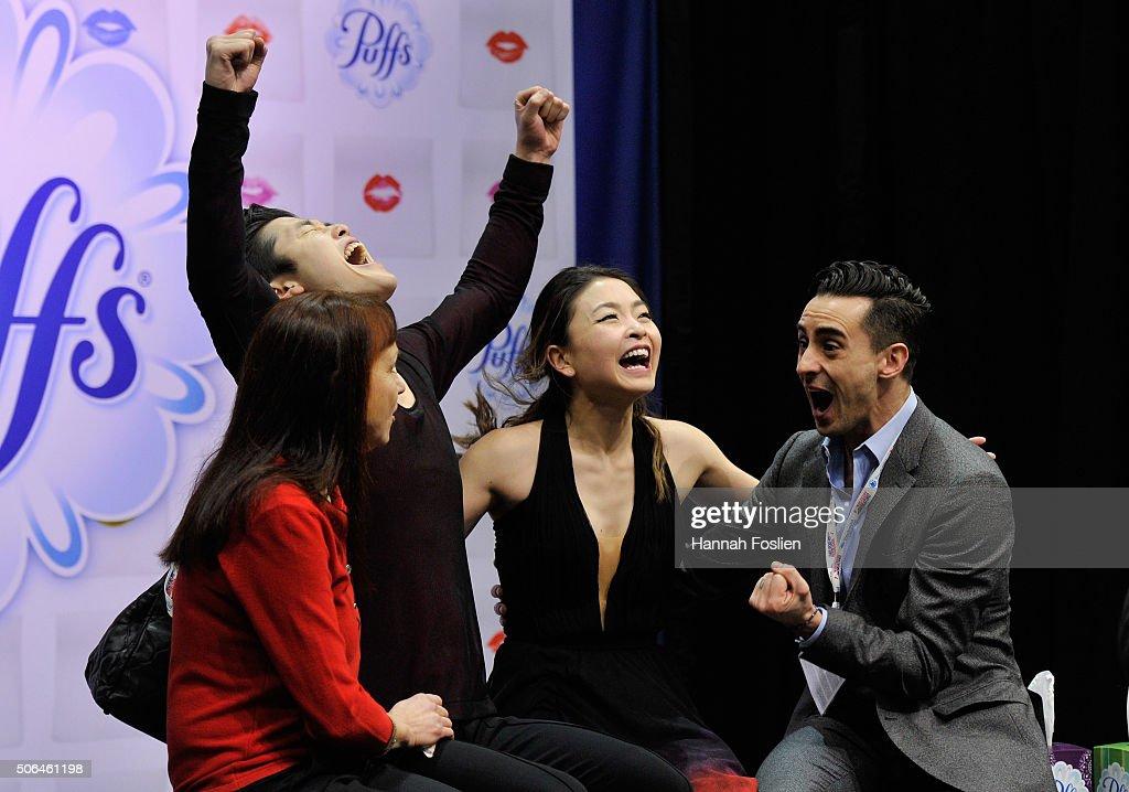 2016 Prudential U.S. Figure Skating Championship - Day 3 : News Photo