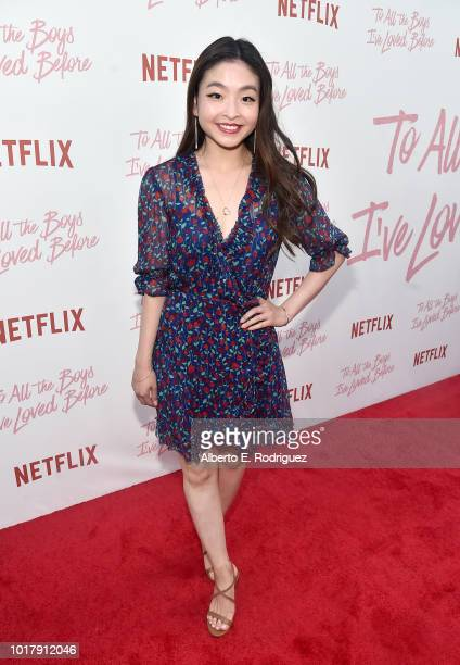 Maia Shibutani attends a screening of Netflix's 'To All The Boys I've Loved Before' at Arclight Cinemas Culver City on August 16 2018 in Culver City...
