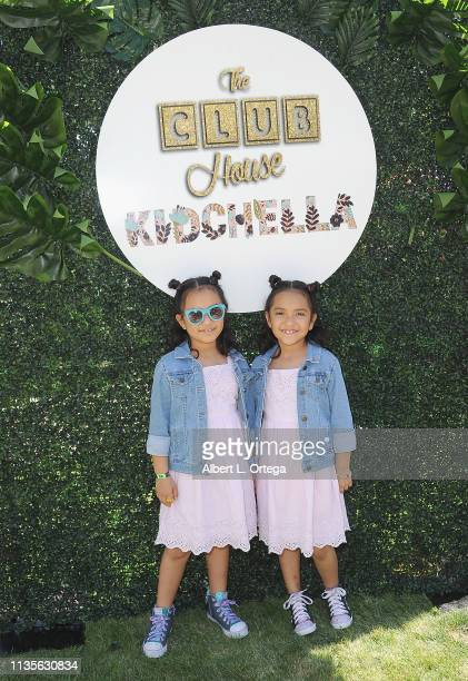 Maiah Camille Gonzalz arrive for Clubhouse Kidchella held at Pershing Square on April 6 2019 in Los Angeles California