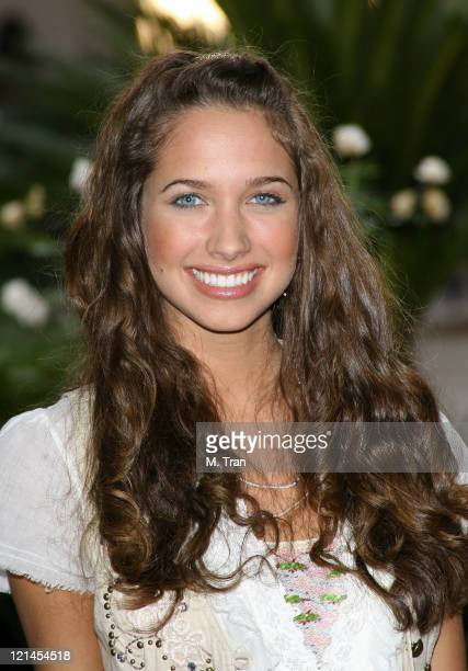 Maiara Walsh during Disney Channel and ABC Family Host CNG Winter Press Tour at The RitzCarlton in Pasadena California United States