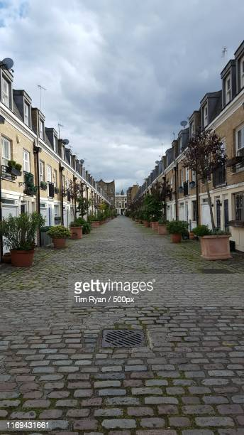 maida vale on a january day - bayswater stock pictures, royalty-free photos & images