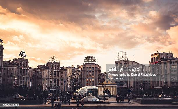 Maidan Square Sunset