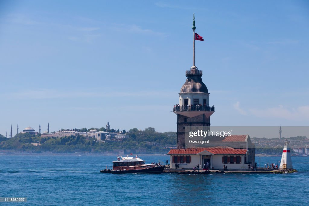 Maiden's Tower in Istanbul : Stock Photo