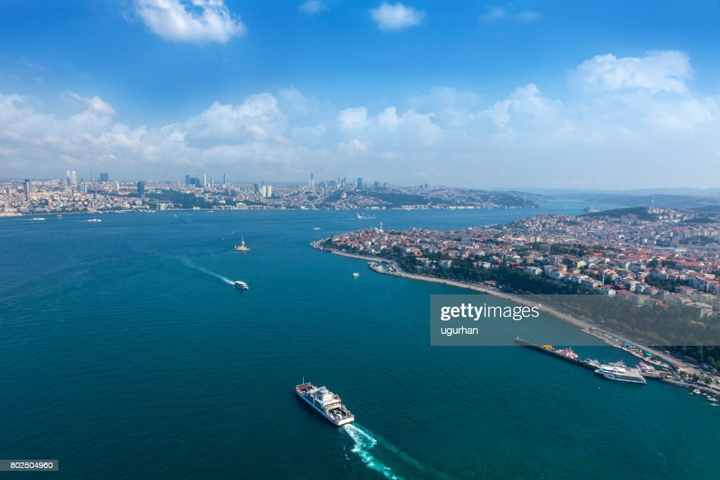 Maiden's tower in İstanbul : Stock Photo