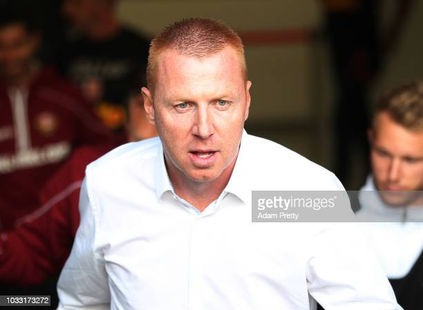 Maik Walpurgis head coach of Dynamo Dresden during the Second Bundesliga match between SSV Jahn Regensburg and SG Dynamo Dresden at Continental Arena...