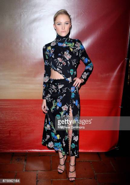 Maika Monroe at the premiere of IFC Films' 'The Tribes Of Palos Verdes' at The Theatre at Ace Hotel on November 17 2017 in Los Angeles California