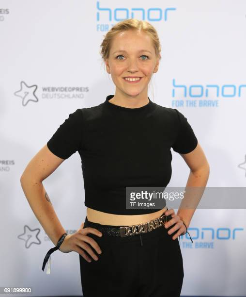 Maike Nissen attends the Webvideopreis Deutschland 2017 at ISS Dome on June 1 2017 in Duesseldorf Germany