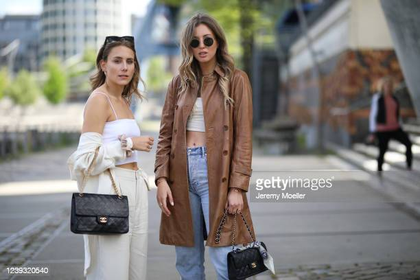 Maike Schmitz and Kira Tolk on May 28, 2020 in Hamburg, Germany.