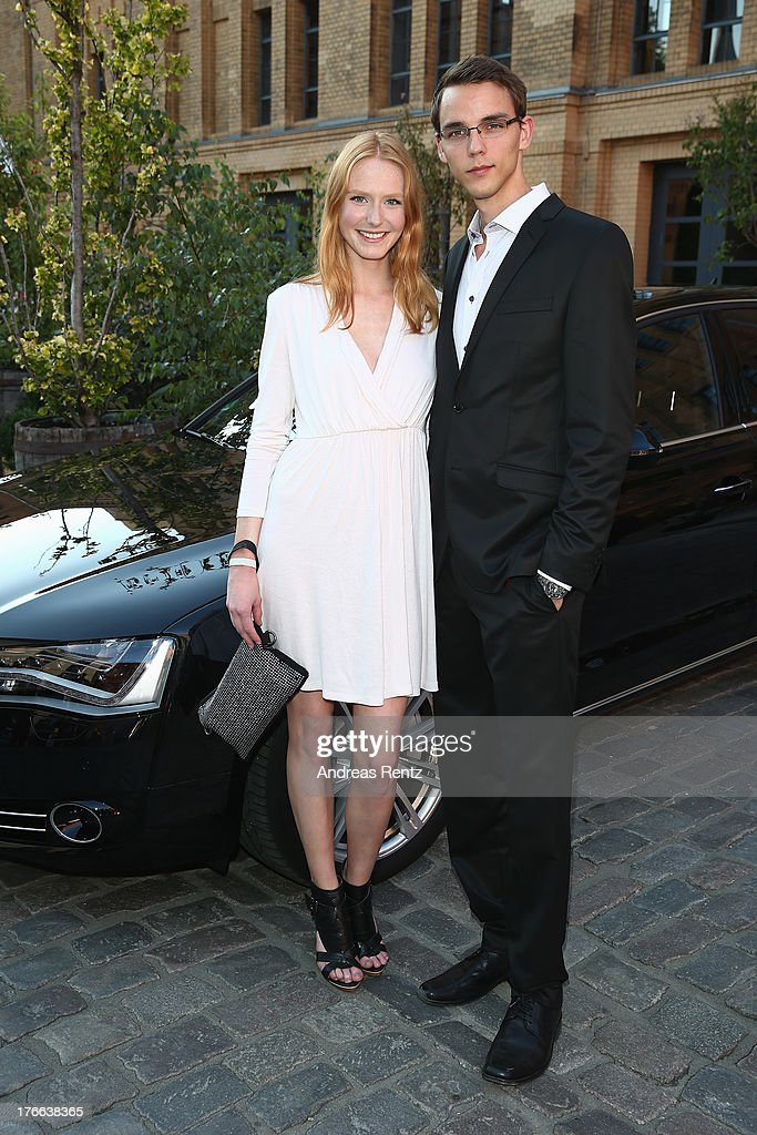 Maike van Grieken and partner Tammo attend the 12th Audi Classic Open Air during the AUDI Sommernacht at Kulturbrauerei on August 16, 2013 in Berlin, Germany.