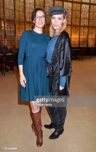 Maike von Bremen Alexa Feser during the Skylight' theater premiere at Schiller Theater on December 1 2019 in Berlin Germany