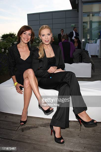 Maike Von Bremen And Lara Isabelle Rentinck The First producers Fest 2009 The German Producers Alliance Film And Television EV in the style works in...