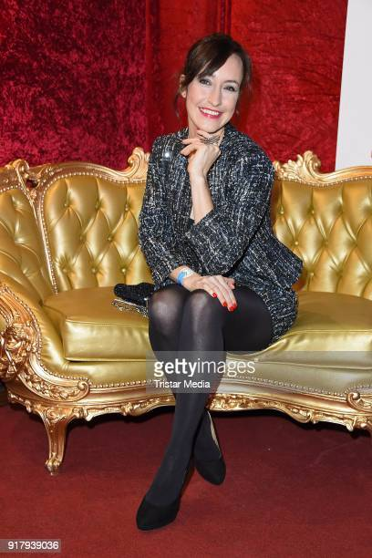 Maike von Bremen attends the Askania Award at Palazzo am Bahnhof Zoologischer Garten on February 13 2018 in Berlin Germany